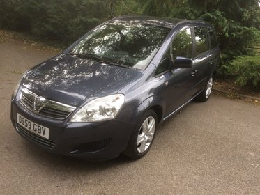 Vauxhall Zafira 1.6 16V VVT  EXCLUSIV 115PS