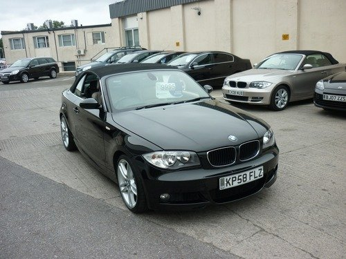 BMW 120 120i M SPORT Convertible Finance Available