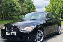 BMW 5 SERIES 530i 3.0 M SPORT Touring 5dr - Rare Manual - ULEZ COMPLIANT