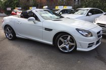 Mercedes SLK 2.1 SLK250 CDI BlueEFFICIENCY AMG Sport 7G-Tronic Plus (s/s)