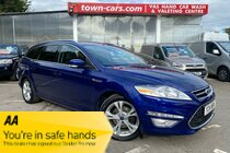 Ford Mondeo TITANIUM X BUSINESS EDITION TDCI - AUTO, ONLY 38609 MILES, SERVICE HISTORY, SAT NAV, 1 FORMER OWNER, DAB RADIO, LEATHER TRIM