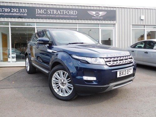 Land Rover Range Rover Evoque 2.2 SD4 Prestige LUX 4x4 5dr LOW RATE FINANCE AT 6.9% APR Representative