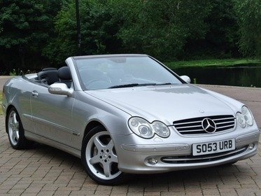 Mercedes CLK CLK 500 AVANTGARDE F,S,H + IMMACULATE CONDITION