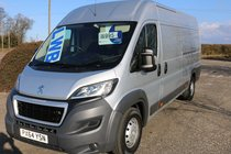Peugeot Boxer L4H2 LWB EXCELLENT CONDITION ONE OWNER DIRECT FROM COMPANY YEARS MOT ELECTRIC PACKAGE RELAY!!