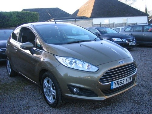 Ford Fiesta 1.5 TDCI ZETEC, £0 TAX, 1 OWNER FULL FORD HISTORY 3 X SERVICES