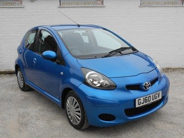 Toyota AYGO 1.0 VVT-i Blue 5dr FULL HISTORY , A1 CONDITION