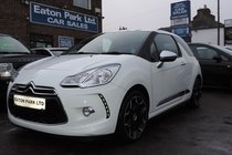 Citroen DS3 HDi 90 Black and White Special Edition
