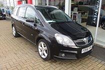Vauxhall Zafira 1.8I 16V  SRI 140PS LOW MILEAGE