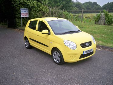 Kia Picanto 1.1 STRIKE SPECIAL EDITION LADY OWNER FULL SERVICE HISTORY AIR CONDITIONING