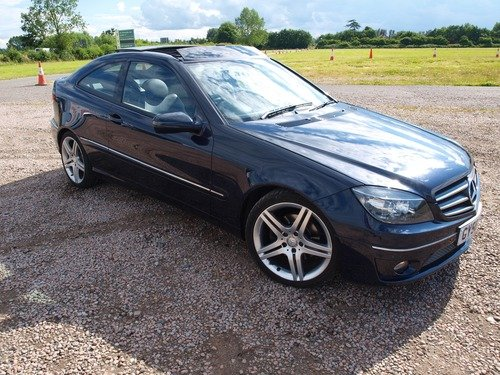 Mercedes CL CLC 200, SAT NAV, PANORAMIC SUNROOF