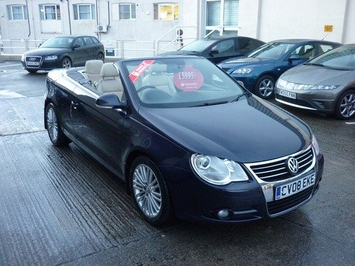Volkswagen Eos 2.0 TSI SPORT 200PS From £128.53pm