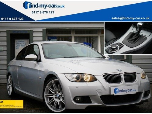 BMW 3 SERIES 335d M Sport Coupe with iDrive