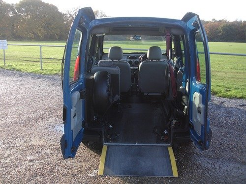 Renault Kangoo 1.2 16V AUTHENTIQUE WHEELCHAIR ACCESS VEHICLE