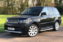 Land Rover Range Rover Sport 3.0 SDV6 HSE Red