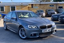BMW 5 SERIES 535d M SPORT AUTO QUALIFYING
