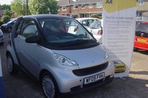 Smart ForTwo coupe pure 61 bhp