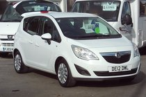 Vauxhall Meriva EXCLUSIV 1.4 41,000 MILES SERVICE HISTORY  IDEAL SMALL MPV