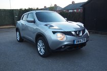 Nissan Juke ACENTA PREMIUM DCI £20 YEAR TAX ! FULL SERVICE HISTORY ! LOW MILES ! 99% FINANCE APPROVAL !