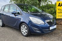 Vauxhall Meriva Exclusiv A Very Nice Clean Car Freshly Moted & Serviced Fully Warranted With AA Cover