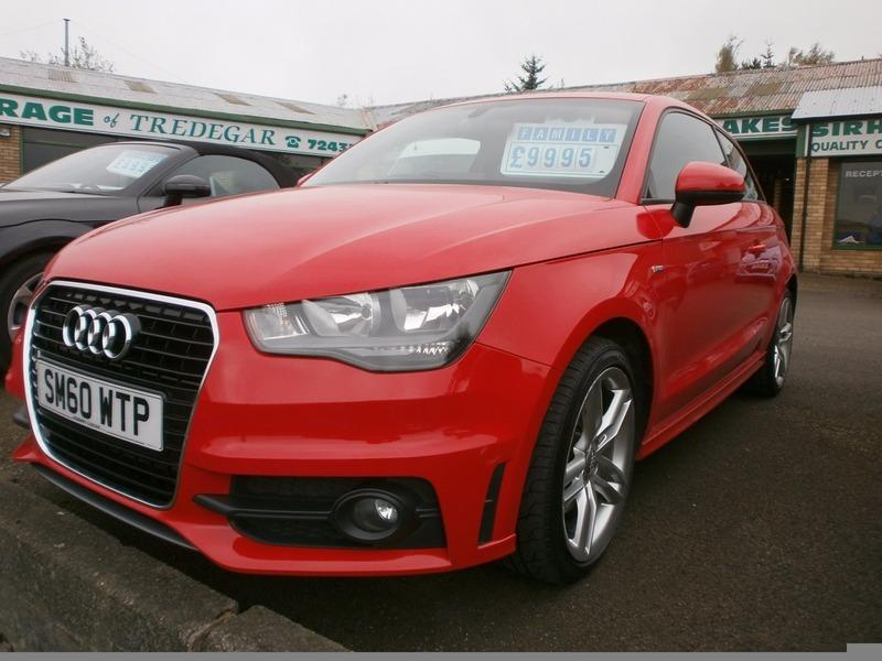 Audi a1 1 6 tdi s line 105ps sirhowy garage for Garage audi a1