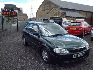 Mazda 323 1.5 GXI+PART EX TO CLEAR+AUG MOT+
