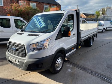 Ford Transit 350 2.2 TDCi Drop side Pick up with Tail lift 125ps