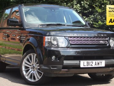Land Rover Range Rover Sport SDV6 HSE SUNROOF + REAR DVD'S