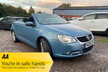 Volkswagen Eos TDI  Cabriolet 2dr Diesel Manual very economical Stunning Eos Cabriolet in Gleaming Blue - Fantastic Condition inside and out