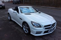 Mercedes SLK SLK250 CDI BLUEEFFICIENCY AMG SPORT BUY NO DEP & £71 A WEEK T&C