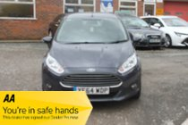 Ford Fiesta ZETEC ECONETIC TDCI - 1 OWNER - CHEAP RUNNING COSTS - NIL ROAD TAX - VERY CLEAN CAR