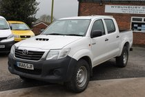 Toyota Hi Lux ACTIVE 4X4 D-4D DCB - Superb Condition Load Carier - One Owner - Mint Condition Inside & Out - Best Pickup Around At This Price