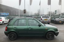 Nissan Micra 1.3 GX with 12 MOT