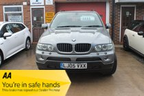 BMW X5 d SPORT - d SPORT - BMW X5 is a luxury car first & foremost, but one that comes with the added prestige of a BMW badge! AUTO