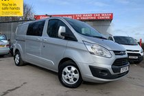 Ford Transit 290 LIMITED LR DCB 6 SEATER
