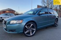 Volvo S40 SE D V50 used car in blue