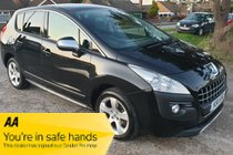 Peugeot 3008 HDI EXCLUSIVE - FULL MOT - 7x SERVICE STAMPS - ONLY 44,000 MILES