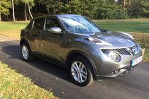 Nissan Juke N-CONNECTA DIG-T FULL NISSAN SERVICE HISTORY BLUETOOTH AND SAT NAV