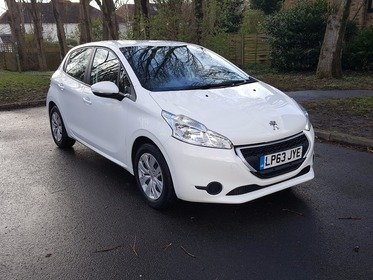 Peugeot 208 1.2 VTI 82 ACCESS+ WHITE & ONLY 20 POUNDS PER YEAR ROAD TAX