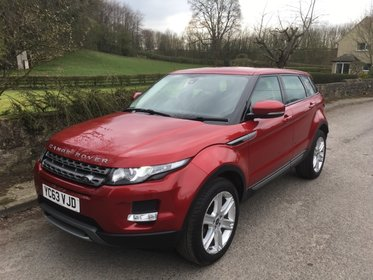 Land Rover Range Rover Evoque SD4 PURE