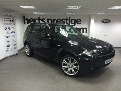 BMW X3 2.0 XDRIVE20d M SPORT Auto + 19
