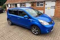 Nissan Note N-TEC AUTOMATIC - Full Service History