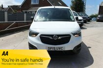 Vauxhall Combo L1H1 2000 EDITION S/S - Reasons to Buy - Strong payload - Excellent ride and handling - Great on safety