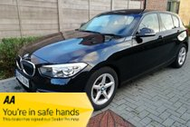 BMW 1 SERIES 116d Ed PLUS SAT NAV