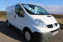 Renault Trafic 2008 EXCELLENT CONDITION FULL YEARS MOT FRESHLY WOOD LINED FULLY SERVICED *NO VAT* VIVARO