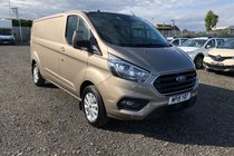 Ford Transit 300 LIMITED P/V L2 H1 NEW VEHICLE .