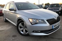 Skoda Superb 1.6 TDI SE BUSINESS NAV/LEATHER/1OWNER