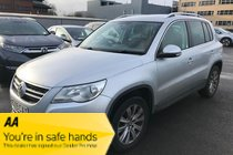 Volkswagen Tiguan SE TDI 4MOTION , ECONOMICAL SUV Alarm with Interior Protection MOST POPULAR 4x4 12 MONTHS WARRANTY £300 OFF!!!