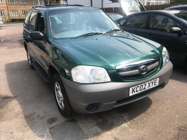 Mazda Tribute GXI 4WD.Part Exchange To Clear