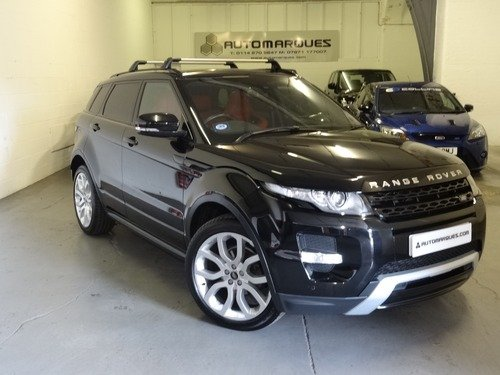 Land Rover Range Rover Evoque 2.2 SD4 4WD DYNAMIC 190HP