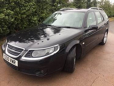 Saab 9-5 2.3T TURBO EDITION, ROLE OUT MODEL, THE LAST OF THE LINE, 260 BHP, HIGH OUTPUT TURBO, SAT NAV, LEATHER, CLIMATE CONTROL
